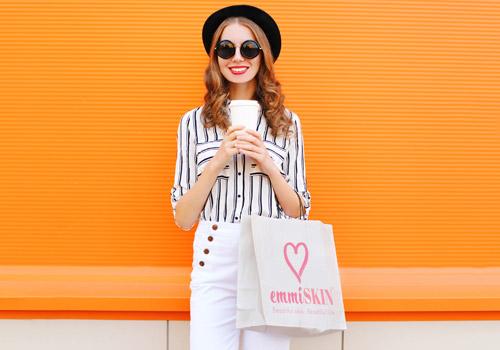 emmiSKIN, shopping bag, Products