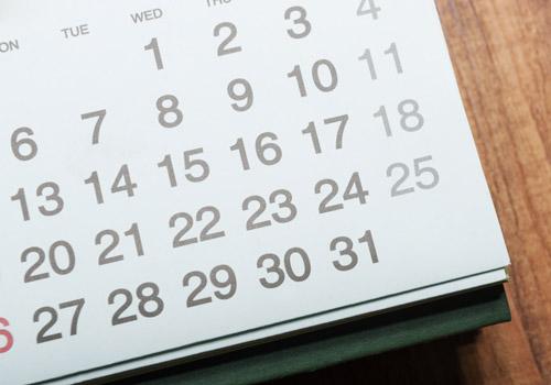 emmiSKIN, calendar